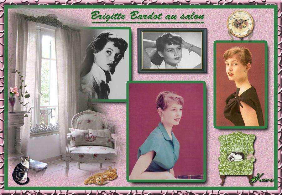 brigitte bardot au salon. Black Bedroom Furniture Sets. Home Design Ideas